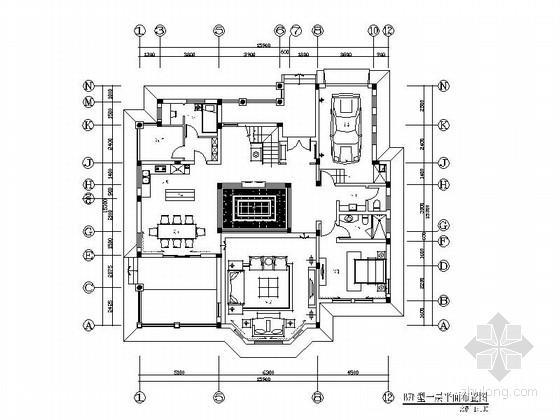 [武汉]精品独栋现代双层别墅室内装修施工图