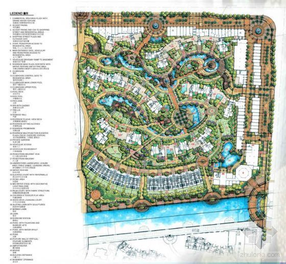 佛山天湖丽都一期概念设计方案