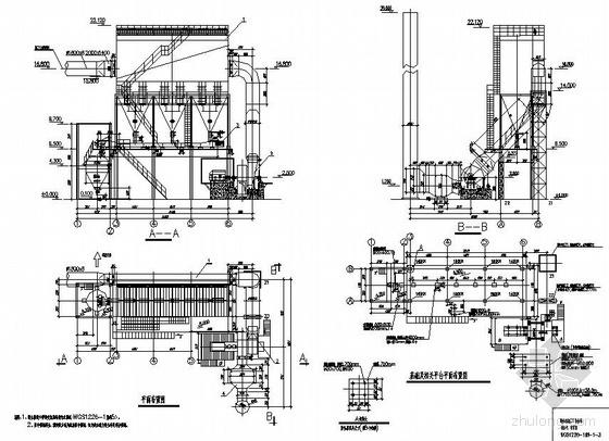 某炼钢厂除尘系统图