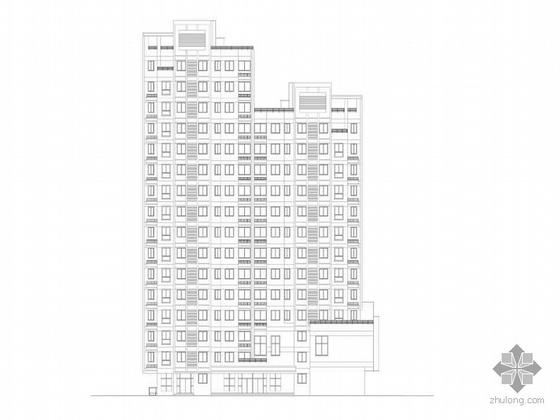 [温州]某居住小区住宅楼群建筑施工图(8栋楼组团)