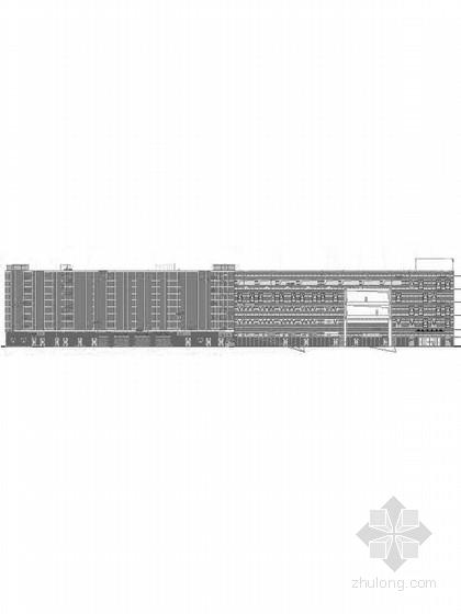 [上海]5层现代风格知名企业辅助厂房设计施工图(图纸精细 值得参考)