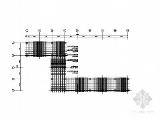 双层防腐木廊架施工图