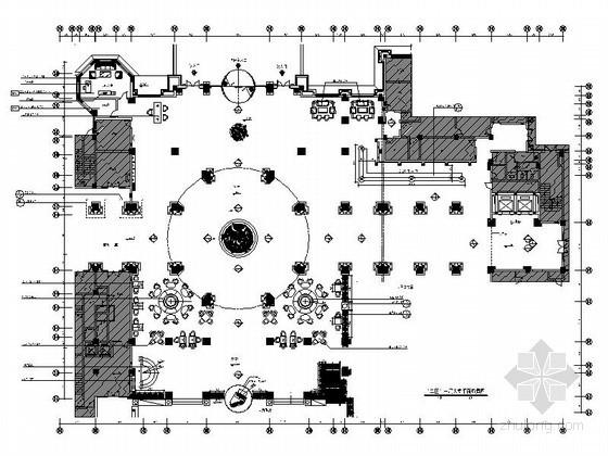 [安徽]酒店豪华欧式大堂室内装修图