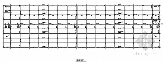[湖南]框架结构厂房结构施工图(二层 独立柱基础)