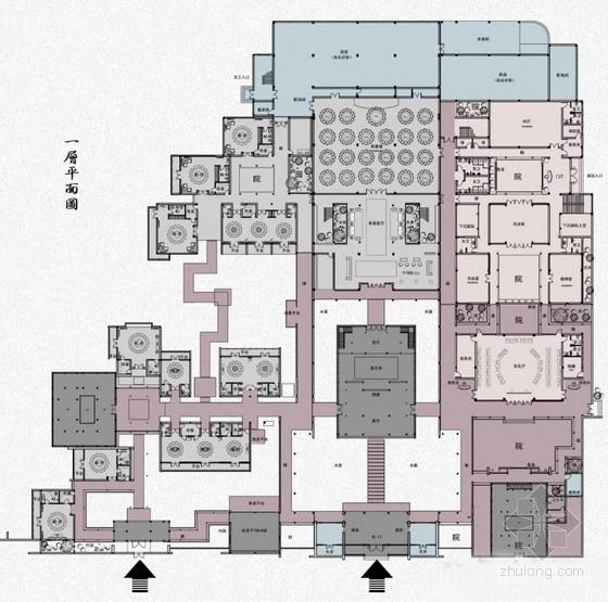 [江苏]徽派建筑风格高端文化会所设计方案
