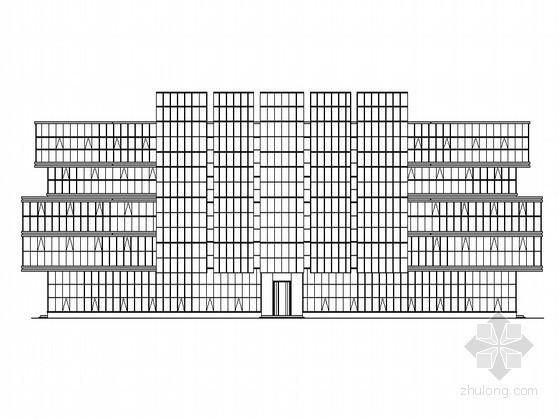 [苏州]某七层综合办公楼建筑扩初图(含效果图)