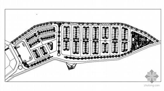山西晋城风景区生态停车场周边景观施工图