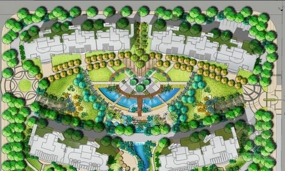 [上海]某国际花园全套景观扩初设计方案
