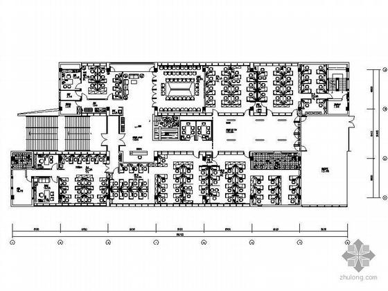 交通建设技术公司办公楼室内装修图