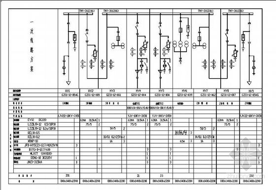 [益阳]某污水处理厂强电图纸