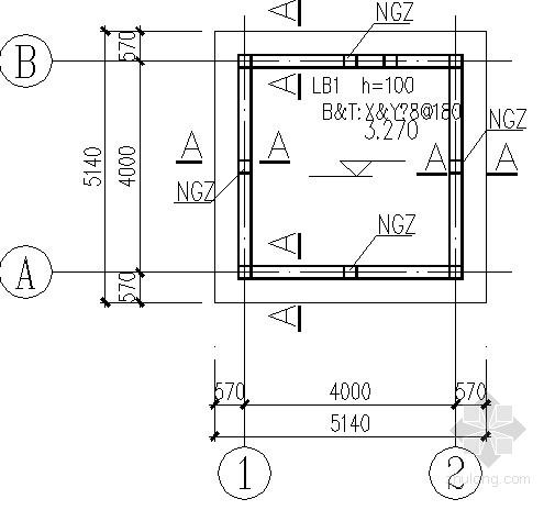 配电房、水井房结构施工图