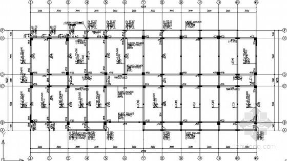 6层框架剪力墙宿舍楼全套施工图