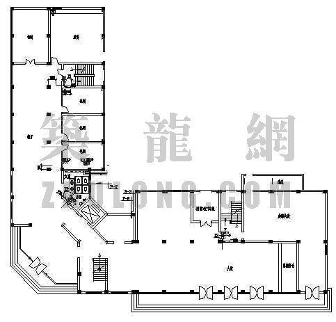 某酒店改造工程平面设计方案