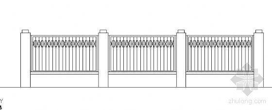 铁艺栏杆立面设计图(二)