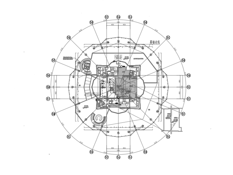超高层公共建筑地下室塔楼电气消防图纸(知名总院 PDF)