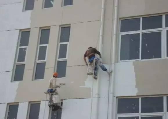 外墙涂料吊绳安全方案