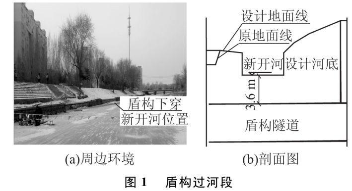 截污管道盾构下穿河底施工技术