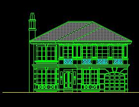 别墅单体方案施工图