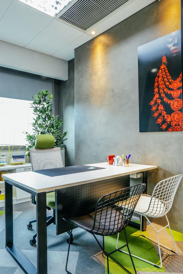 INTERISLAND现代风格办公室室内实景图 (4)