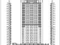 某二十五层大型酒店建筑全套施工图