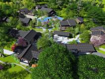 福建滨海山体旅游度假村改造设计(附:效果图)