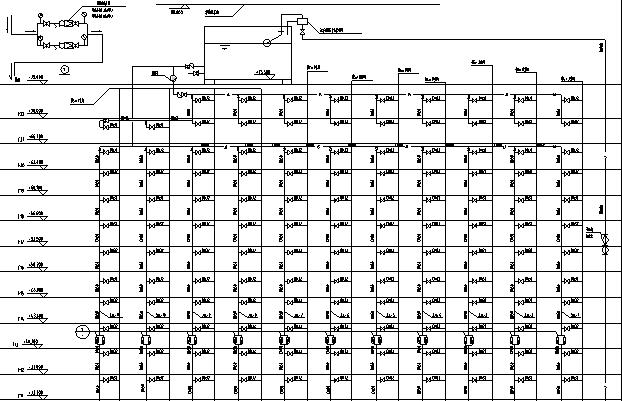 二十二层大型宾馆给排水全套施工图纸_4