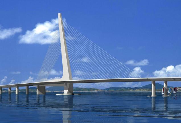 21世纪香港斜拉桥建设工程汇报材料_4