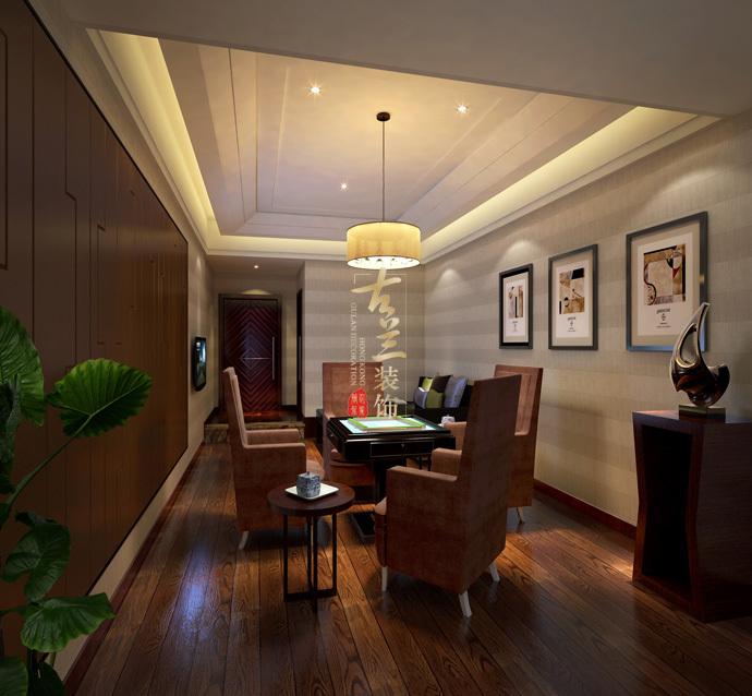 资阳茶楼装修设计公司资阳茶楼设计公司-《 澄乡茶楼》-古兰装饰