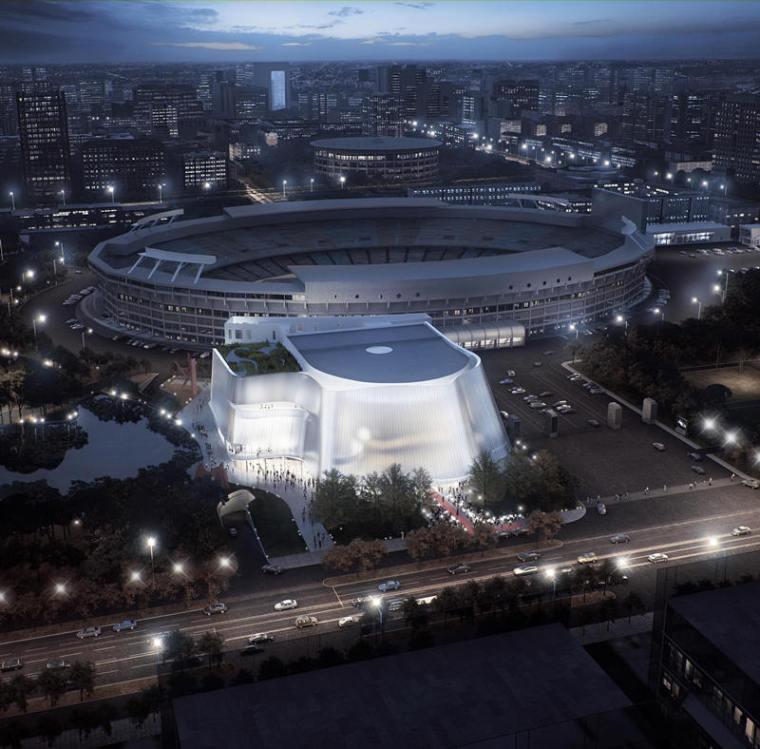 MAD的又一力作即将落户北京——爱乐乐团音乐厅设计