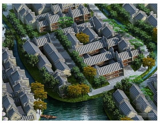 [广东]岭南水乡旅游文化街区概念规划设计方案文本-岭南水乡旅游文化街区概念规划效果图
