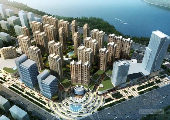 [河南]现代风格城市综合体规划及单体设计方案文本(含CAD)