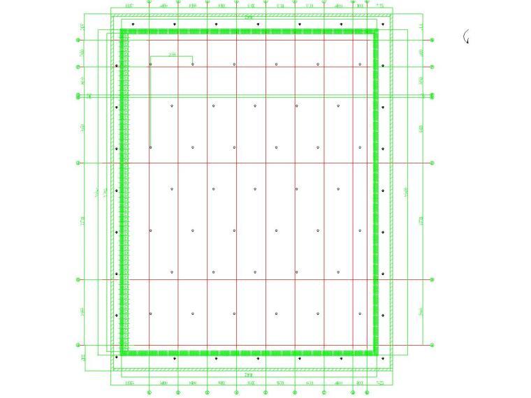 高靈敏度土地區復合土釘墻支護結構圖紙