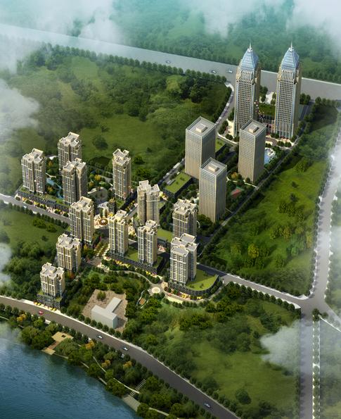 [贵州]新古典主义风格居住小区规划建筑方案设计文本