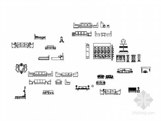 经典室内CAD常用图块下载