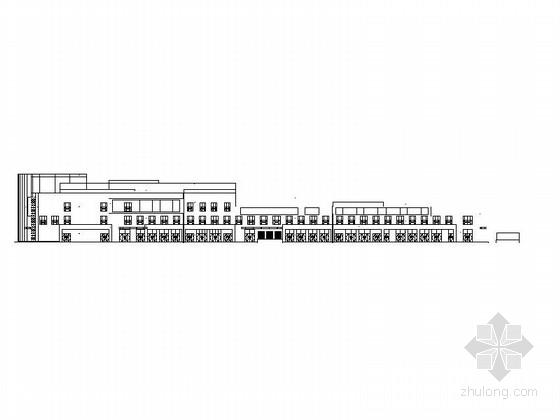 大型现代风格商业综合体及单体建筑设计施工图