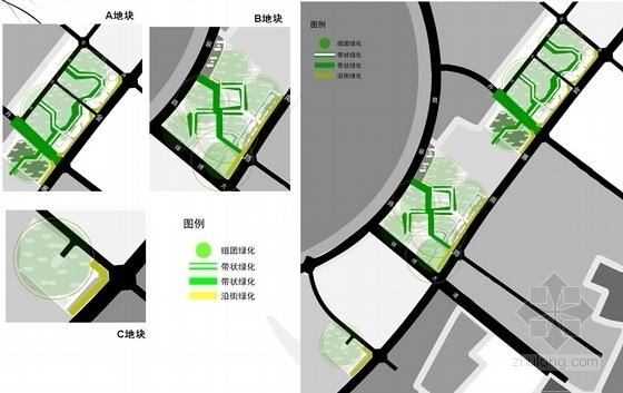 [安徽]都市文化商务住区规划设计方案文本(垂直都市理念)-都市文化商务住区规划分析图