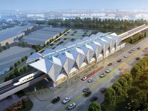 青岛地铁13号线建筑方案公示,立面酷似风帆!
