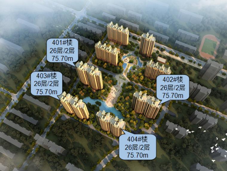 [河北]框剪结构商住楼工程总承包施工组织设计(430页,附图)