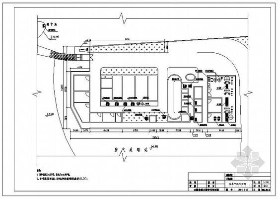 某垃圾渗滤液处理站设计施工图