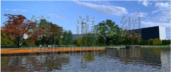 中国矿大南湖校区滨湖景观设计