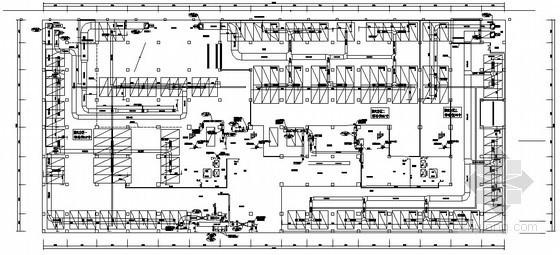 [山东]大型办公楼多联机系统设计施工图