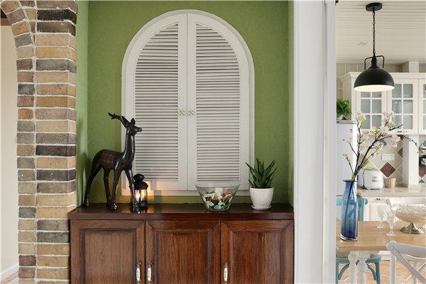 现代美式风格家居装修效果图