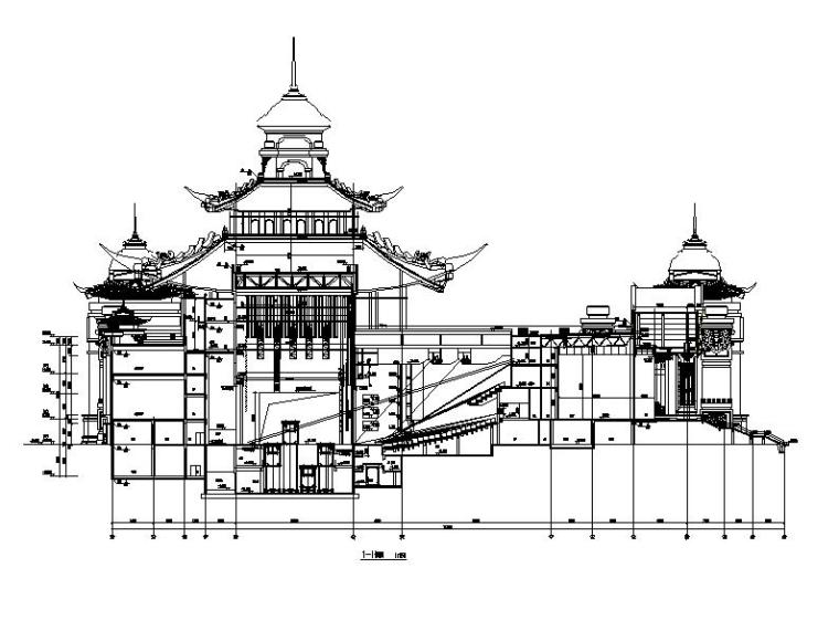 [内蒙古]四层新古典风格多功能文化中心建筑施工图(16年最新)_7