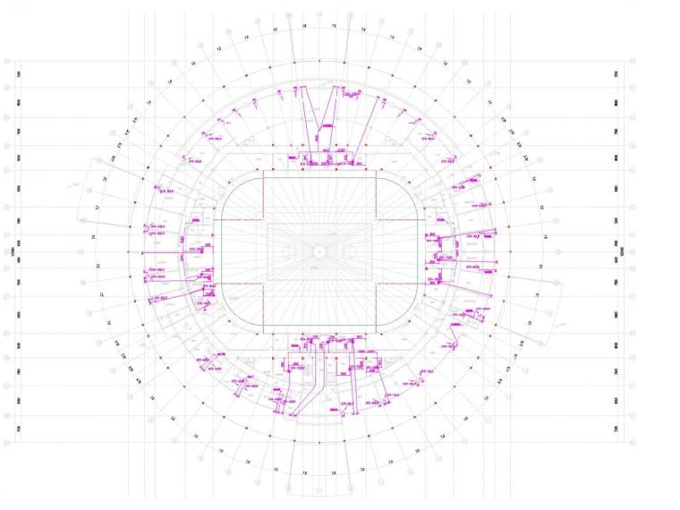多层体育馆建筑空调通风及防排烟系统设计施工图