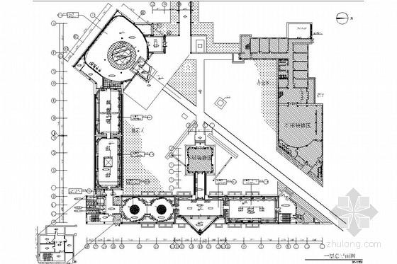 [黑龙江]金源文化文物博物馆室内施工图(含实景图)