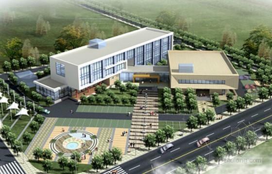 [福建]2015年2层文化活动中心建筑安装工程量计算及预算书(含图纸 广联达软件应用)