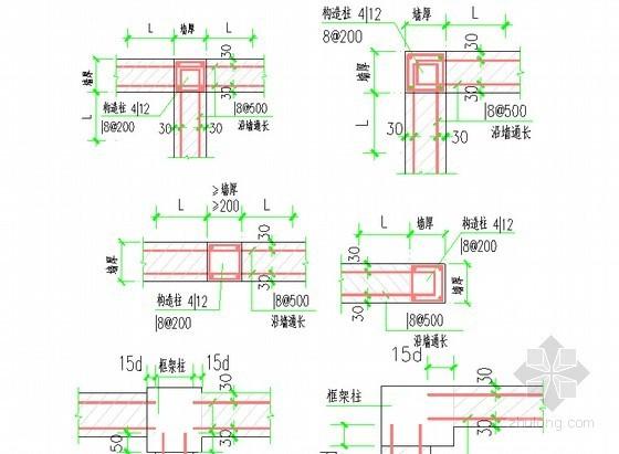 [北京]剧场工程砌筑工程施工方案(附详细施工划分图)