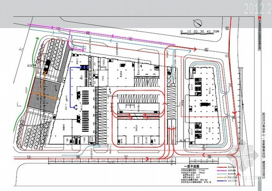 [武汉]客运中心建设项目总体设计方案(含设计图)