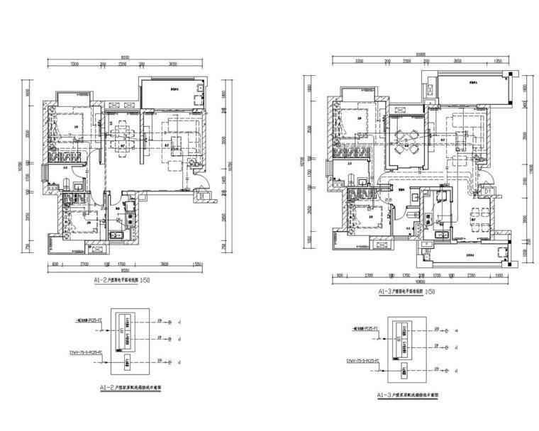 [海南]大型地产高档住宅小区建筑群全套电气施工图(含总图、二次原理图)