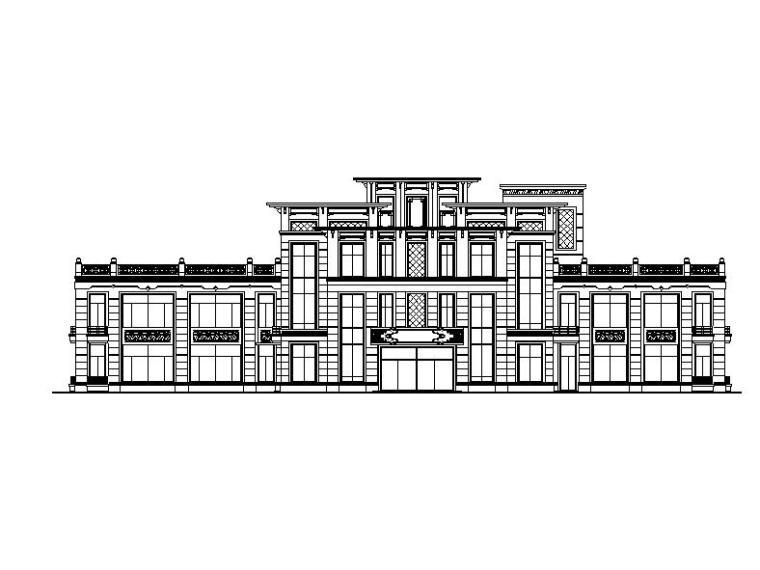 [上海]三层9班幼儿园建筑施工图